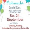 Flohmarkt Op de Bünt in Ahlerstedt