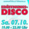 Neue Saison Eissporthalle startet mit Disco