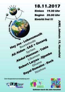 Musikabend One World @ JUBS | Harsefeld | Niedersachsen | Deutschland