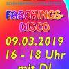 Faschings-Disco in der Schwimmhalle Ahlerstedt