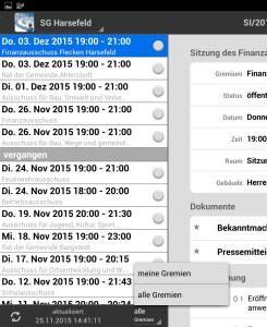 ALLRIS-App_Gremien_auswählen