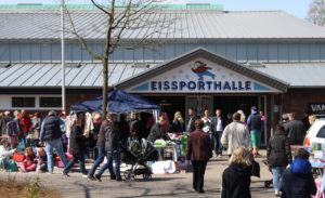 Großer Kinder- und Babyflohmarkt in und an der Eissporthalle @ Eissporthalle Harsefeld
