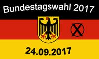 Bundestagswahl 2017- Briefwahlunterlagen