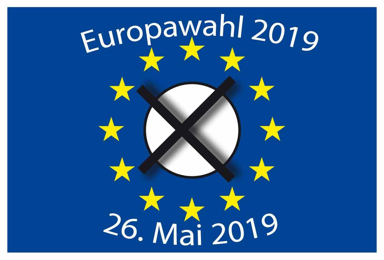 Europawahl 2019- Briefwahlunterlagen
