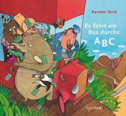 """Bilderbuch-Kino mit Basteln """"Es fährt ein Bus durchs ABC"""" @ Friedrich-Huth-Bücherei"""