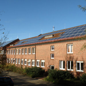 Photovoltaik auf Rathaus
